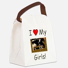 Love My Girls Canvas Lunch Bag