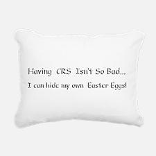 CRS Easter Eggs Rectangular Canvas Pillow