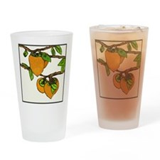persimmons Drinking Glass