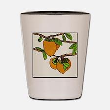 persimmons Shot Glass