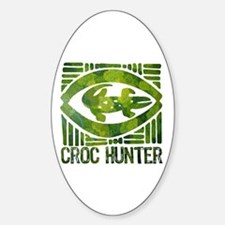 Crikey - A Tribute to Steve Irwin Oval Decal