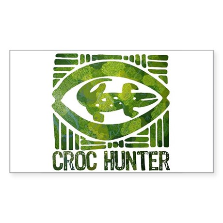 Crikey - A Tribute to Steve Irwin Sticker (Rectang