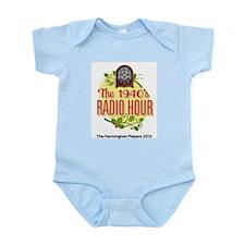 1940s Radio Hour Logo Infant Bodysuit