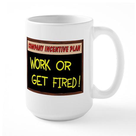 WORK ETHIC Large Mug