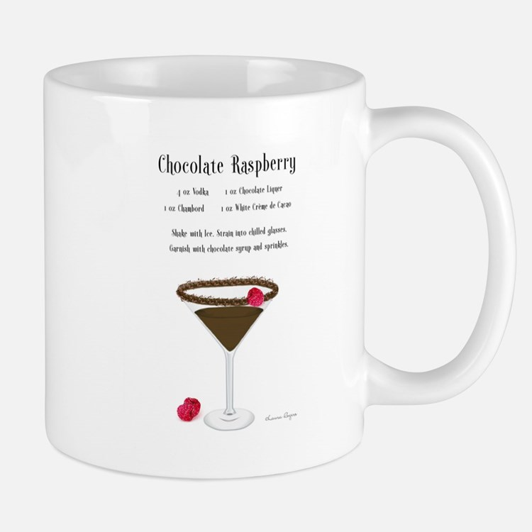 Chocolate Raspberry Martini Mug