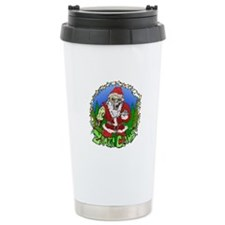 Zombie Claus Travel Mug