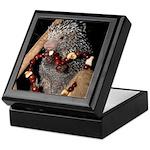Porcupine With Berry Heart Keepsake Box