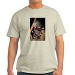Porcupine With Berry Heart Light T-Shirt