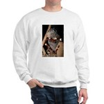 Porcupine With Berry Heart Sweatshirt