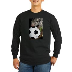 Porcupine With Soccer Ball T