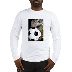 Porcupine With Soccer Ball Long Sleeve T-Shirt