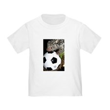 Porcupine With Soccer Ball Toddler T-Shirt