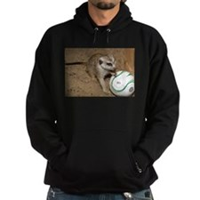 Meerkat on Soccer Ball Hoody