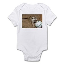 Meerkat on Soccer Ball Onesie