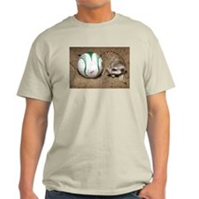 Meerkat With Soccer Ball Light T-Shirt