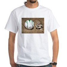 Meerkat With Soccer Ball White T-Shirt