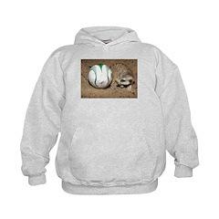 Meerkat With Soccer Ball Hoodie