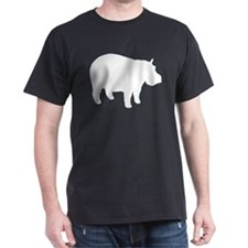 Hippo Black T-Shirt