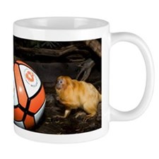 Golden Lion Tamarin with Volleyball Mug