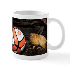 Golden Lion Tamarin with Volleyball Mug