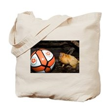 Golden Lion Tamarin with Volleyball Tote Bag