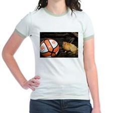 Golden Lion Tamarin with Volleyball Jr. Ringer T-S