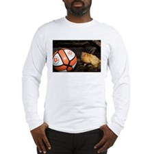 Golden Lion Tamarin with Volleyball Long Sleeve T-