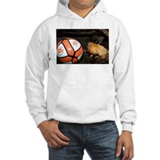 Golden Lion Tamarin with Volleyball Hooded Sweatsh