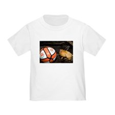 Golden Lion Tamarin with Volleyball Toddler T-Shir