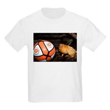 Golden Lion Tamarin with Volleyball Kids Light T-S