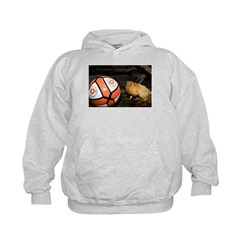 Golden Lion Tamarin with Volleyball Hoodie