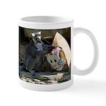Lemur With Easter Bag Mug