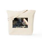 Lemur With Easter Bag Tote Bag