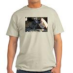 Lemur With Easter Bag Light T-Shirt