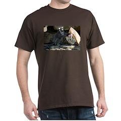 Lemur With Easter Bag T-Shirt
