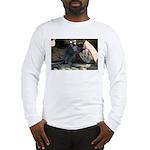 Lemur With Easter Bag Long Sleeve T-Shirt