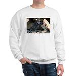 Lemur With Easter Bag Sweatshirt