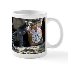 Lemur In Easter Bag Mug