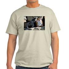 Lemur In Easter Bag Light T-Shirt