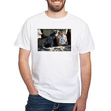 Lemur In Easter Bag White T-Shirt