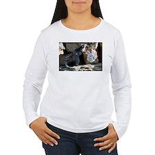 Lemur In Easter Bag Women's Long Sleeve T-Shirt