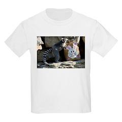 Lemur In Easter Bag T-Shirt