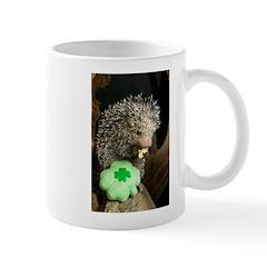 Porcupine with Shamrock Mug