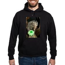 Porcupine with Shamrock Hoodie (dark)