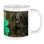 Monkey With Shamrock Mug