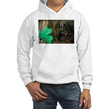 Monkey With Shamrock Hooded Sweatshirt
