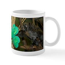 Monkey Grabbing Shamrock Mug