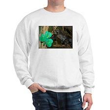 Monkey Grabbing Shamrock Sweatshirt