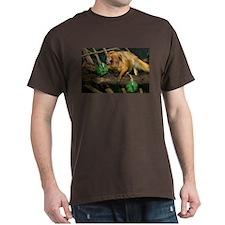 Golden Lion Tamarin with Shamrock Dark T-Shirt