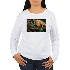Golden Lion Tamarin with Shamrock T-Shirt